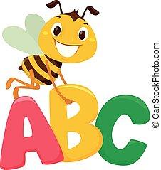ábécé, irodalomtudomány, méh