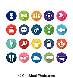 ábra, állhatatos, vektor, ikon, jelkép