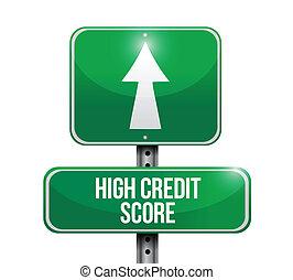 ábra, aláír, magas, hitel, bemetsz, tervezés, út