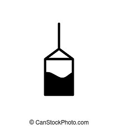 ábra, grafikus, ikon, vektor, tervezés, tea