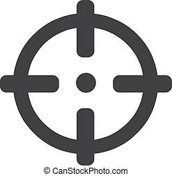 ábra, háttér., vektor, fekete, látás, fehér, ikon