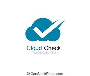 ábra, megjelöl, tervezés, jel, ellenőriz, felhő, ikon