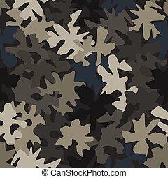 ábra, pattern., struktúra, elvont, hadi, álcáz, vektor, seamless, hadsereg