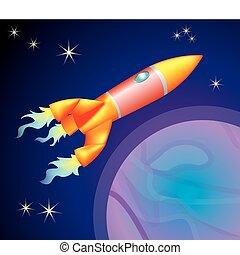 ábra, rakéta