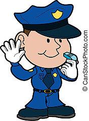 ábra, rendőr