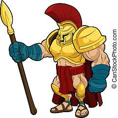 ábra, spartan, gladiator