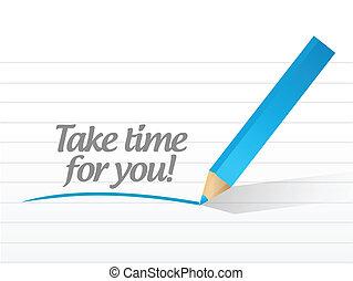 ábra, tervezés, fog, idő, ön, üzenet