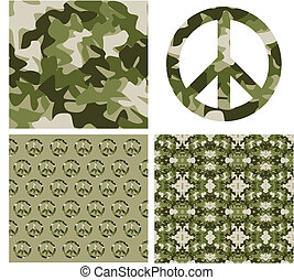 álcáz, béke, patchs