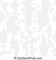 álcáz, elvont, vektor, digitális, háttér., seamless, pattern., camo, hadi