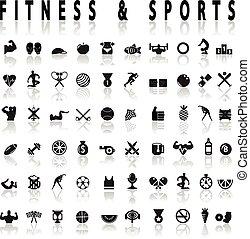 állóképesség, sport icons