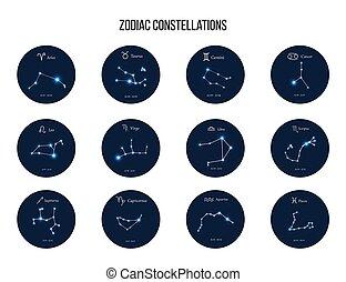 állatöv cégtábla, gyűjtés, csillagkép, horoszkóp