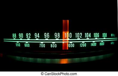 állati tüdő, tárcsa, rádió