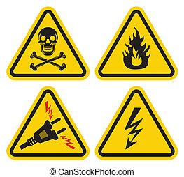 állhatatos, aláír, figyelmeztetés
