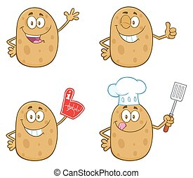 állhatatos, betű, krumpli, gyűjtés, 1.
