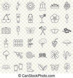 állhatatos, cseresznye, mód, áttekintés, ikonok
