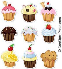 állhatatos, cupcakes, finom