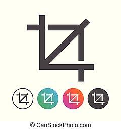 állhatatos, egyszerű, jelkép, tervezés, portré, ikon