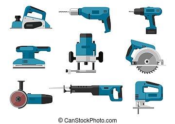 állhatatos, eszközök, elektromos