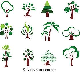 állhatatos, fa, ikonok