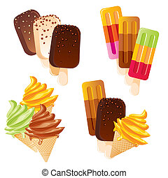 állhatatos, fagylalt