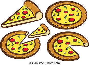 állhatatos, finom, pizza