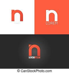 állhatatos, háttér, észak, tervezés, levél, jel, ikon