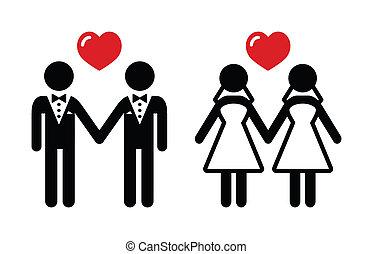 állhatatos, házasság, buzi, ikonok