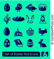 állhatatos, húsvét, ikonok