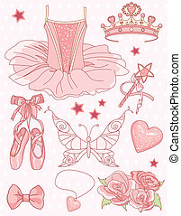 állhatatos, hercegnő, balerina