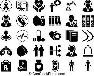 állhatatos, ikon, orvosi