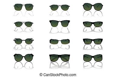 állhatatos, napszemüveg