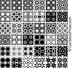 állhatatos, patterns., 36, seamless