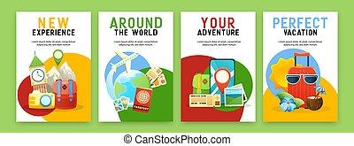 állhatatos, plakátok, utazás