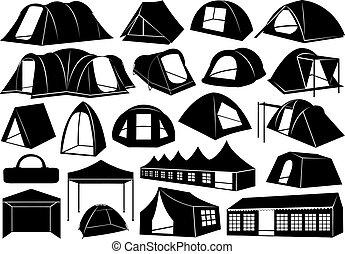 állhatatos, sátor