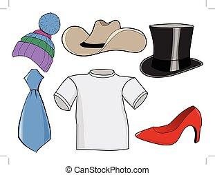 állhatatos, segédszervek, öltözék