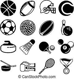 állhatatos, sport, ikon