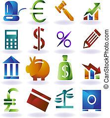 állhatatos, szín, ikon, bankügylet
