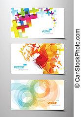 állhatatos, színes, tehetség, elvont, loccsanás, kártya.