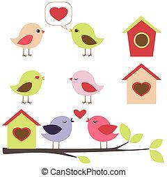 állhatatos, szeret madár
