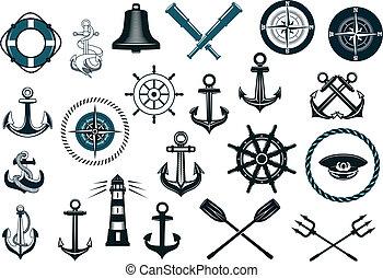 állhatatos, tengeri, ikonok