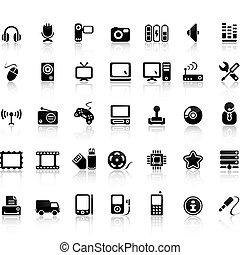 állhatatos, video, ikon, audio
