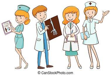 állományokat, ápoló türelmes, orvosok