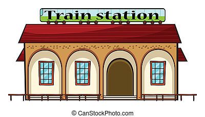 állomás, kiképez