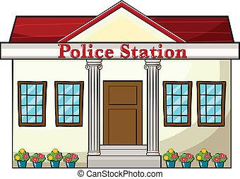 állomás, rendőrség