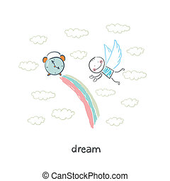 álmodik