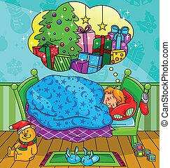 álmodik, karácsony