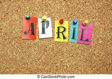 április