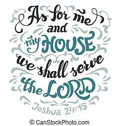 árajánlatot tesz, felszolgál, biblia, épület, lord, az enyém, én