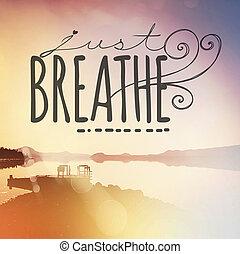 árajánlatot tesz, nyomdai, belélegzési