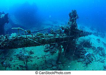 árboc, hajótörés